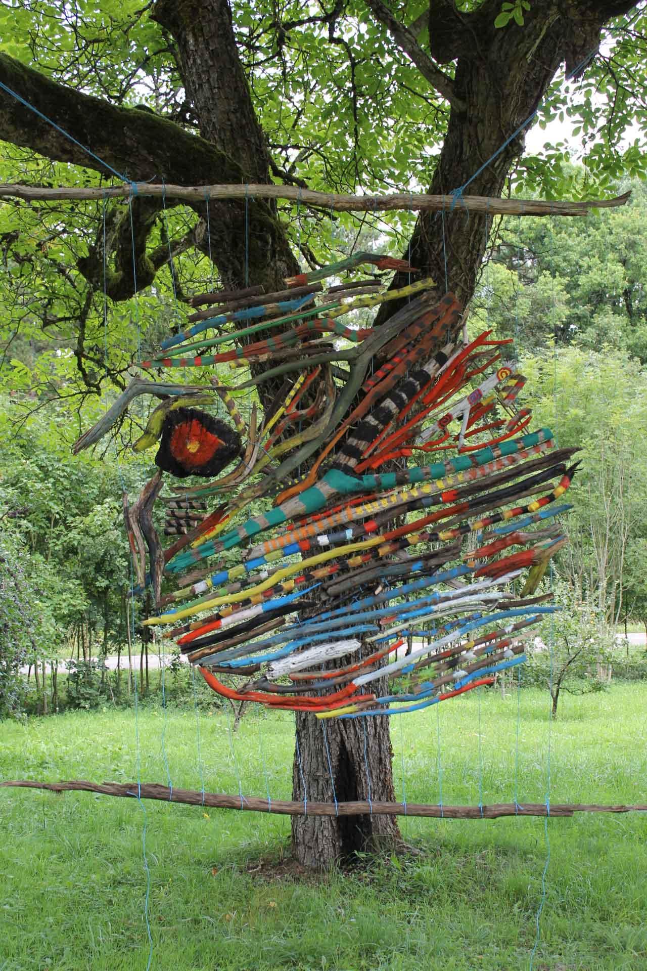 Land art à Langainberg, résidence 2014