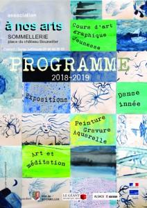 Programme 152x214 A nos arts recto A5