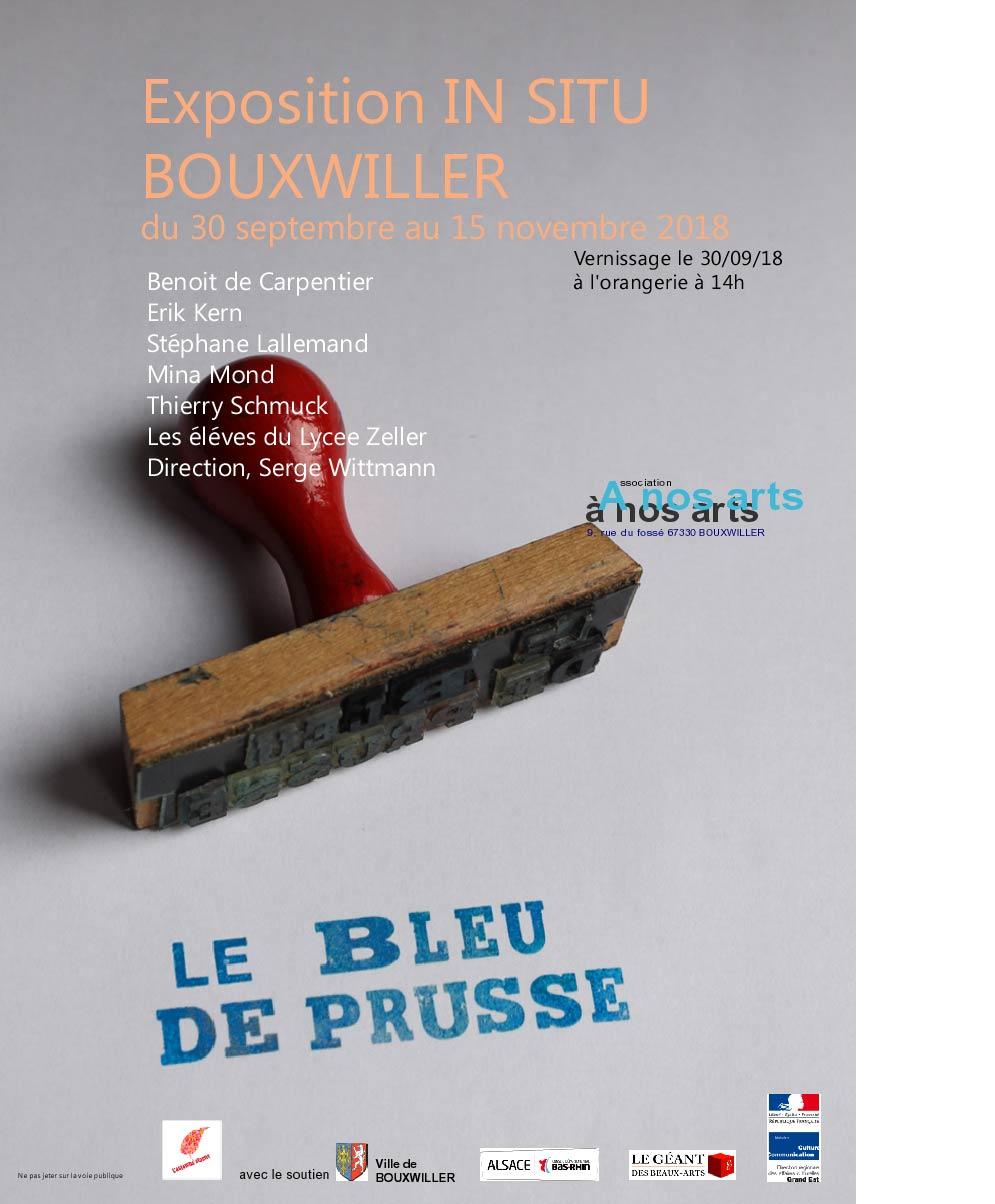 affiche2 Expo Le bleu de PrusseINT